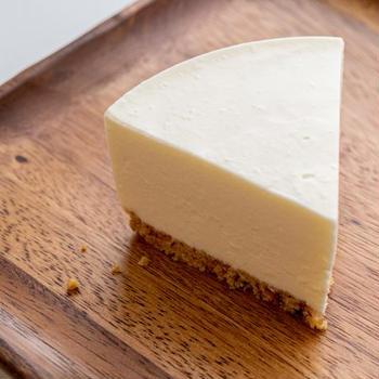 自家製タルトのレアチーズケーキ
