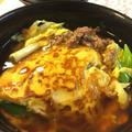 和風ひき肉天津丼