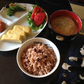 卵焼きと玄米