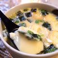 レンジでチン!松茸の味お吸い物で茶碗蒸し