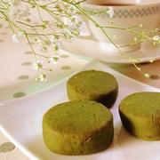 ポリ袋で濃厚抹茶クッキー♪バター不使用米粉100%!ココナッツオイル