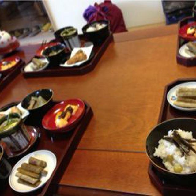 藤井まり先生の精進料理教室