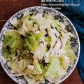 【キャベツ大量消費】包丁不要の1行レシピ!塩昆布とキャベツのやみつきサラダ