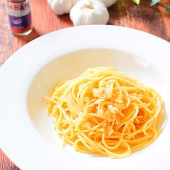 【レッドペパー使用】ペペロンチーノのレシピ