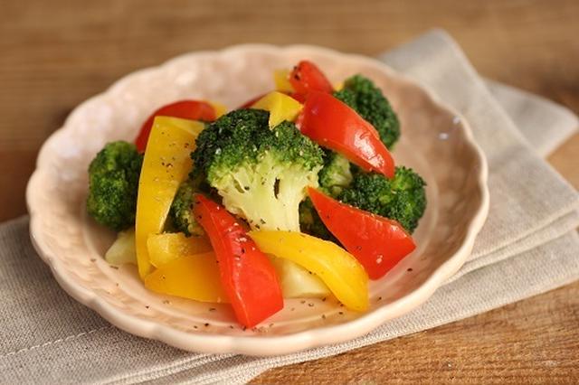3分でできる◎蒸し野菜