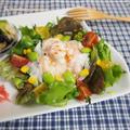 簡単☆ヘルシー!!エビマヨ風♪野菜たっぷりサラダ