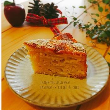 【LIMIA】簡単混ぜるだけ!フレッシュりんごのケーキ♡