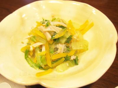 白菜と春雨のサラダ