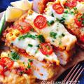 低糖質ミートピザ【鶏胸肉のたまごピザ】(動画レシピ)
