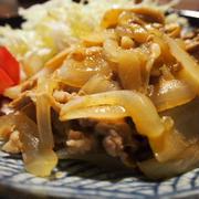 〈おうちのみ大使〉舞茸と豚肉の生姜炒め♪