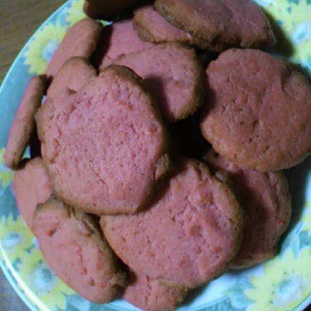 ★いちごクッキー☆