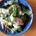 海藻サラダ入りおさしみサラダ