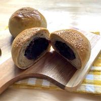 ごぼう茶お豆腐あんパン《手ごねパン》