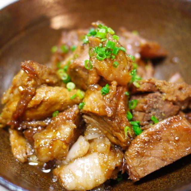豚ロースの煮照り焼き