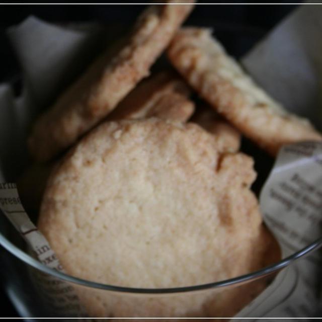 ほろほろっとバターなクッキー