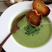 <レシピ>レタスとじゃがいものスープ