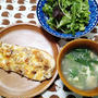 レタス外葉のスープ とか作り置きとか。