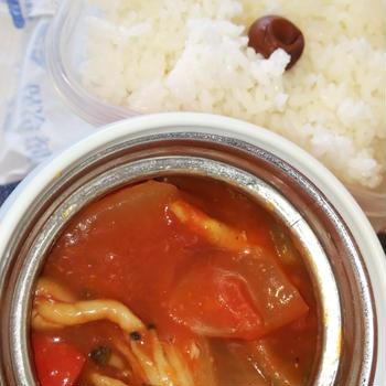 鶏トマト煮弁当
