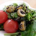 レシピ掲載ありがとうございます♪さっぱり☆クレソンの黒ごまオリーブサラダ by kaana57さん