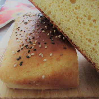 ノンオイル♪HMで素朴懐かし味噌パン/またまたつくレポさせていただきました♡