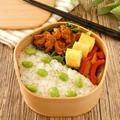 電子レンジ★大豆ミートと玉葱のトマト煮