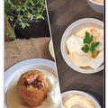 季節を感じる「柿と蕪のサラダ」スィーツは「丸ごと焼きリンゴ」です by pentaさん