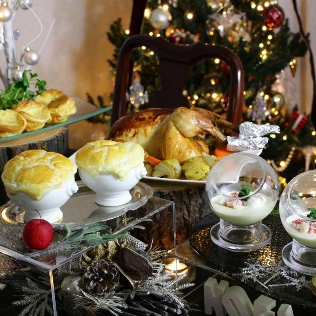 クリスマスのテーブル 2017