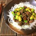 アボ肝やるよね。アボカド砂肝の濃厚ガーリックバルサミコ炒め(糖質3.4g) by ねこやましゅんさん