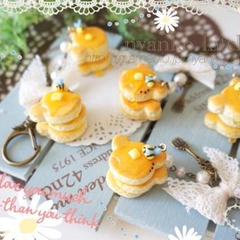 *ハンドメイド*とろ〜りハチミツのクマパンケーキ