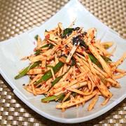 さつま芋キムチレシピーー すぐに美味しく食べれる千切りキムチ