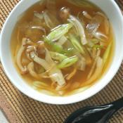 野菜たっぷりヘルシー生姜スープ