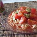 5分で完成♪冷た~いトマトとアボカドの冷麺