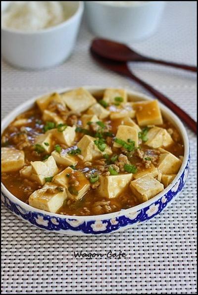 和風 カレー麻婆豆腐**curried Mapo tofu