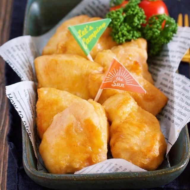 トースターで10分♪『むね肉 de 中津風♡焼き唐揚げ』【作り置き*お弁当*節約*ヘルシー】