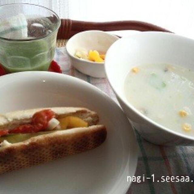 こんな朝食を食べてます。