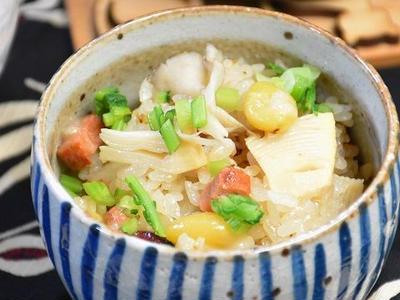>【レシピ】ノンオイルドレッシングで中華風おこわ by ayakaさん