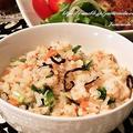 新米☆千葉県産コシヒカリで♪【鮭と塩昆布の混ぜご飯】