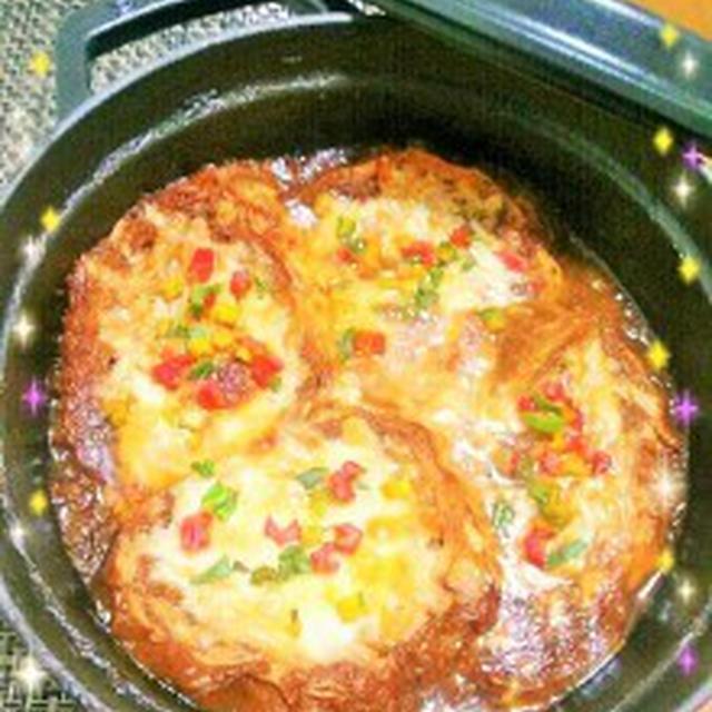 涙なんて、もう流さない!!熱々フーフーが美味しいね♪オニオングラタンスープ