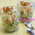 押し麦のタブーリ風サラダ