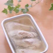 栁川香織(Cho-coco)さんのささみのオイル漬け