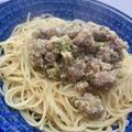 肉みそスパゲティ