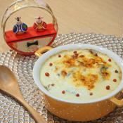 牡蠣のお豆腐クリームグラタン