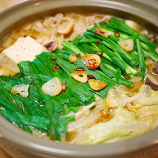 ニンニクゴマ味噌鍋