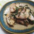 ジューシー✿鶏モモ肉と大葉の塩炒め