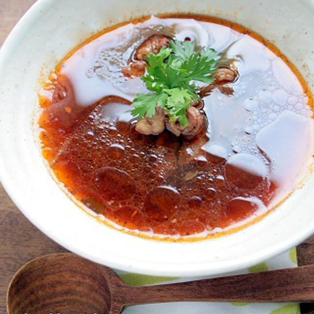 タイの牛肉スープ