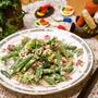 冷凍野菜で節約♪インゲンとブロッコリーのツナサラダ
