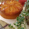 リンゴのキャラメリゼが美味しい♪炊飯器ケーキ