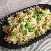 秋鮭の柚子胡椒炒飯