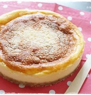 4種チーズのベイクドチーズケーキ