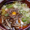 熱々具だくさん☆『きのこと長ネギのあんかけ蕎麦』簡単美味な作り方 by 自宅料理人ひぃろさん